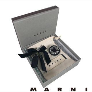 Marni - MARNI 2点セット フラワー リボン ブローチ ビジュ