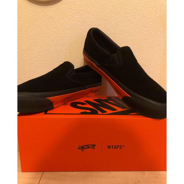 W)taps(ダブルタップス)の即納 27cm WTAPS VANS SLIP ON スリッポン メンズの靴/シューズ(スニーカー)の商品写真