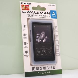 WALKMAN A40、A30シリーズ用 シリコンケース クリア