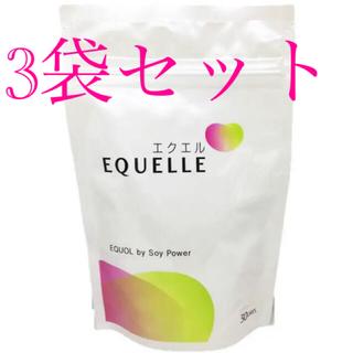 オオツカセイヤク(大塚製薬)の大塚製薬の「EQUELLE(エクエル)」3袋セット(その他)