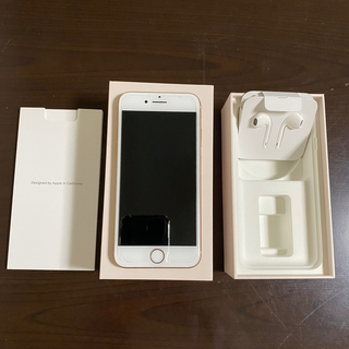 Apple - iPhone8 本体 64GB SIMフリー GOLD