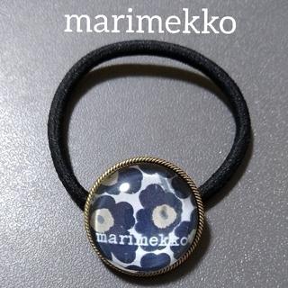 marimekko - marimekko ヘアゴム ウニッコ 黒
