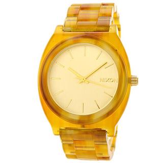 NIXON - 佐野真依子さん愛用 NIXON ニクソン タイムテラーアセテート べっ甲調腕時計