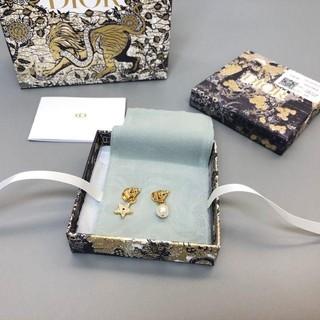 Christian Dior - Dior スタッドピアス star パール