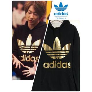 adidas - adidas  アディダス オリジナルス 金ロゴ パーカー