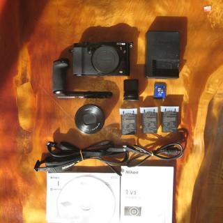 Nikon - Nikon1 V3 プレミアムキット 中古