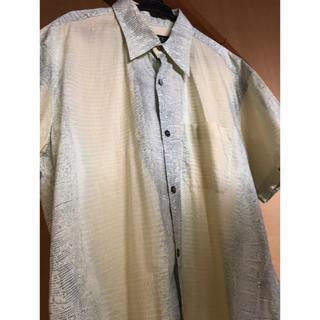 アーペーセー(A.P.C)のA.P.C. 半袖シャツ クロコダイル グリーン(シャツ)