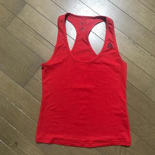 リーボック(Reebok)のリーボック Reebok ボディーパンプ トレーニングシャツ 真っ赤 Mサイズ(ウェア)