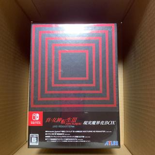 ニンテンドースイッチ(Nintendo Switch)の真・女神転生III ノクターン HDリマスター(限定版) Switch(家庭用ゲームソフト)