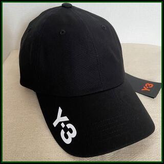 Y-3 - 大人気!新品【Y-3 ワイスリー】ロゴキャップ Black
