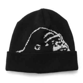 エクストララージ(XLARGE)のXLARGE KIDS ロゴ ニットキャップ キッズキャップ ニット帽子(帽子)