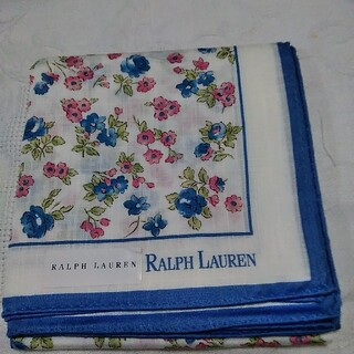 Ralph Lauren - ラルフローレン 小さな花柄 ハンカチ 未使用
