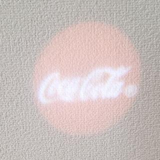コカコーラ(コカ・コーラ)のコカ・コーラ ライトキーホルダー☆(ノベルティグッズ)