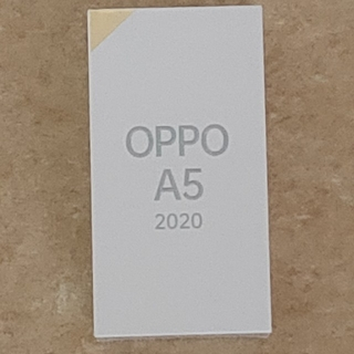 ANDROID - OPPO A5 2020 ブルー SIMフリー
