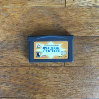 ゲームボーイアドバンス(ゲームボーイアドバンス)の日本未発売 コナミアーケードアドバンス 北米版(携帯用ゲームソフト)