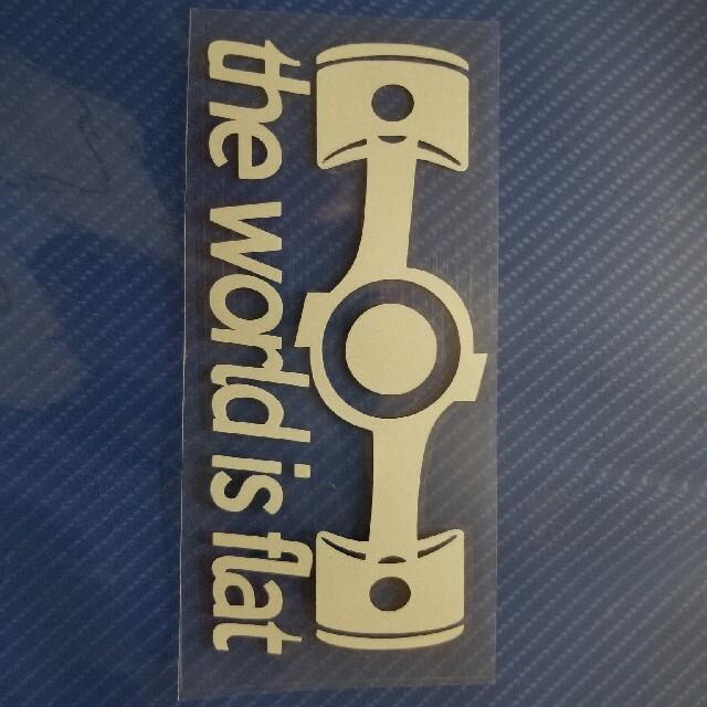 スバル(スバル)のスバルステッカーボクサー窓用(ホワイト)値下げ 自動車/バイクの自動車(車外アクセサリ)の商品写真