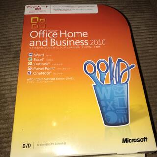マイクロソフト(Microsoft)のOffice Home and Business 2010 新品(PC周辺機器)