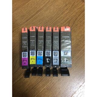 キヤノン純正インク BCI-351XL 350XL/6MP 大容量タイプ