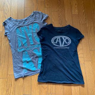 アルマーニエクスチェンジ(ARMANI EXCHANGE)のTシャツ M(Tシャツ(半袖/袖なし))