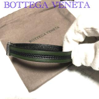 ボッテガヴェネタ(Bottega Veneta)のBOTTEGA VENETAボッテガヴェネタレザーブレスレットMサイズ(ブレスレット)