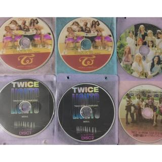 ウェストトゥワイス(Waste(twice))のTWICE 6枚セット(*´ー`*)お買い得 DREAMday 他最新DVDまで(アイドル)