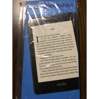ANDROID - Kindle Paperwhite 防水 wifi 8GB ブラック 広告つき