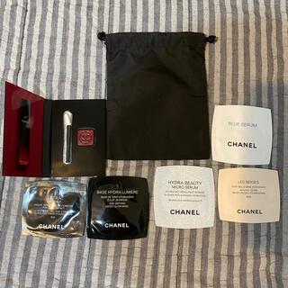CHANEL - 新品未使用 シャネル サンプル品 まとめ売り+巾着 袋付き