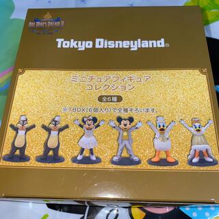 Disney - ディズニー ワンマンズドリームⅡ ミニチュアフィギュアコレクション 6個 箱なし