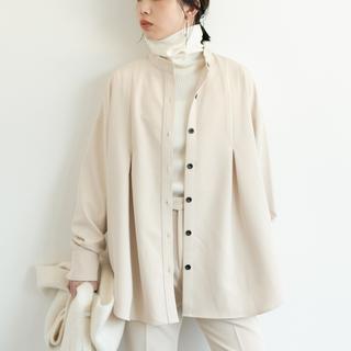 アントマリーズ(Aunt Marie's)のAunt Marie's タックバンドカラーシャツジャケット 2020aw(シャツ/ブラウス(長袖/七分))