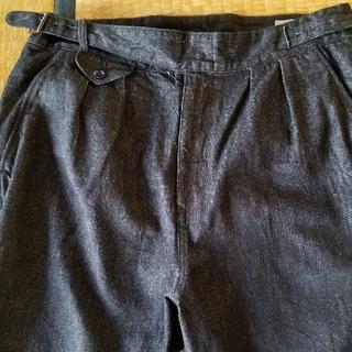 エンジニアードガーメンツ(Engineered Garments)のケネスフィールドのデニムグルカトラウザー L(スラックス)