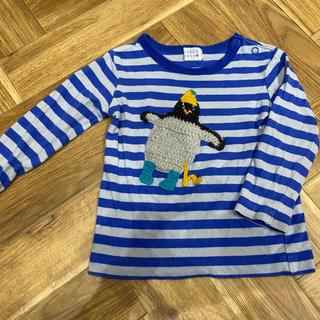 ハッカベビー(hakka baby)のハッカベビー hakka baby ボーダーカットソー ペンギン(Tシャツ/カットソー)