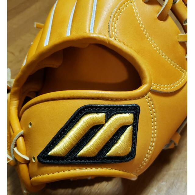 MIZUNO(ミズノ)の【タマリンド様専用】ミズノプロ復刻版グローブ 軟式 宮本モデル スポーツ/アウトドアの野球(グローブ)の商品写真