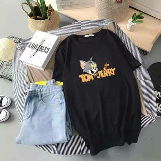 トムとジェリー Tシャツ 半袖 ユニセックス フロントプリント H&M ZARA