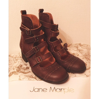 JaneMarple - *Jane Marple 4連ストラップシューズ Sサイズ*