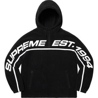 Supreme - Supreme polartec Half Zip Hooded