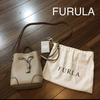 Furla - 新品FURLA フルラ ステイシー 2way ショルダー バケツ 巾着バッグ