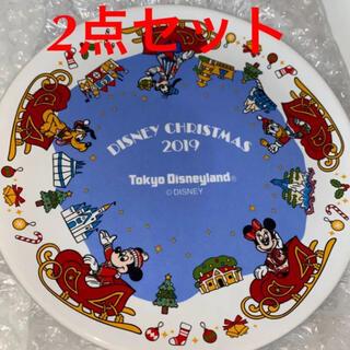 Disney - ディズニー ランド クリスマス 2019 スーベニア プレート お皿 食器セット