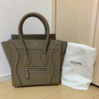 celine - 【美品】 セリーヌ ランゲージ マイクロ