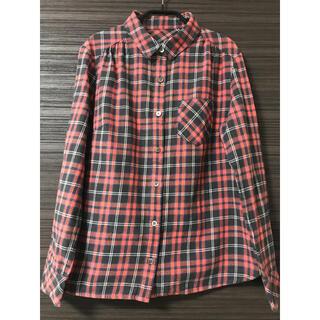 ROPE - チェックシャツ ネルシャツ 38サイズ 赤 ロペROPE