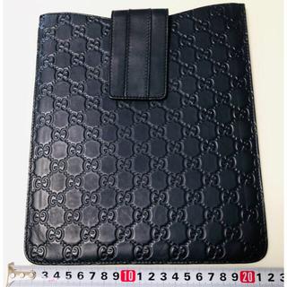 Gucci - iPadケース GUCCI グッチ ほぼ未使用 中古美品