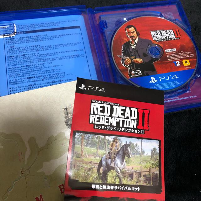 PlayStation4(プレイステーション4)のレッド・デッド・リデンプション2 ps4 エンタメ/ホビーのゲームソフト/ゲーム機本体(家庭用ゲームソフト)の商品写真