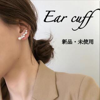 アガット(agete)のイヤーカフ パール 片耳(イヤーカフ)