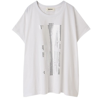ZUCCa - ZUCCa Tokyo Neon Tシャツ 白
