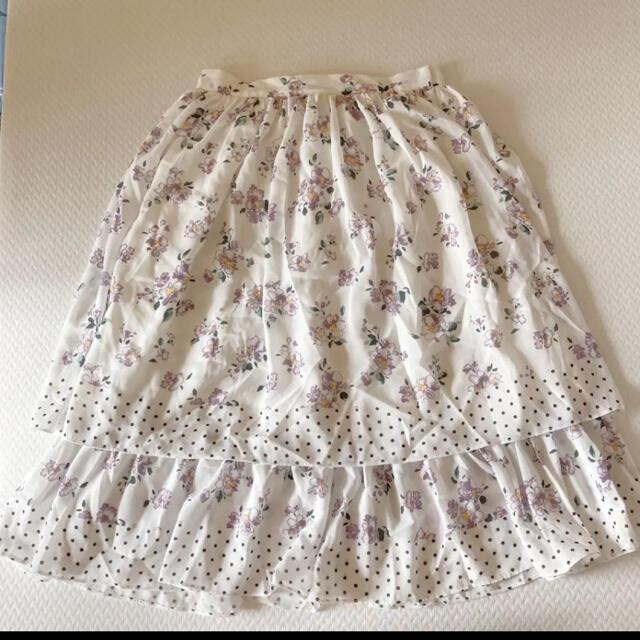 31 Sons de mode(トランテアンソンドゥモード)の31Sons de mode ロングスカート レディースのスカート(ロングスカート)の商品写真