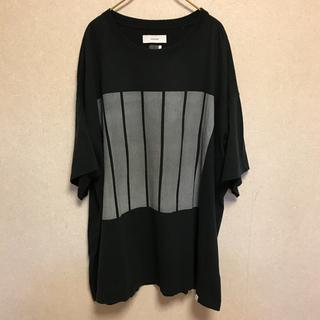 ファセッタズム(FACETASM)のFACETASM ファセッタズム BF Big Tee T-shirt ビッグT(Tシャツ/カットソー(半袖/袖なし))