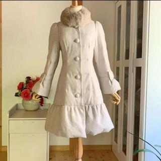M'S GRACY - カタログ掲載 10万位 美品 エムズグレイシー   暖かいダウンコートコート
