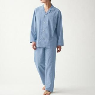 MUJI (無印良品) - 無印良品 オックスフォードパジャマ メンズ XL