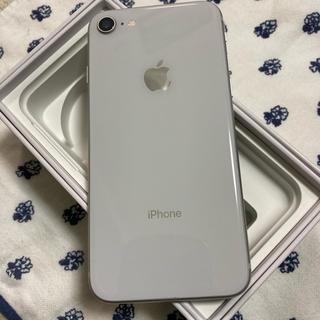 アイフォーン(iPhone)のIPhone 8  64GB ホワイト ドコモ(スマートフォン本体)