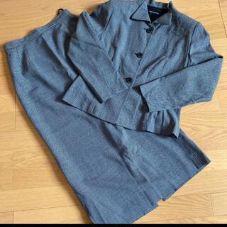 ブレッケンリッジ セットアップ ロングスカート 11号 チャコールグレー(スーツ)