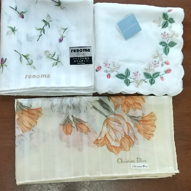 Christian Dior(クリスチャンディオール)のハンカチ新品ブランド品 レディースのファッション小物(ハンカチ)の商品写真